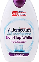 Fragrances, Perfumes, Cosmetics 2-in-1 Whitening Toothpaste - Vademecum Non-Stop White 2in1 Toothpaste + Mouthwash