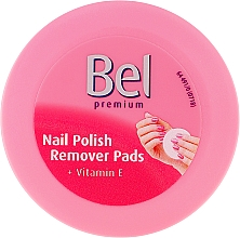 Fragrances, Perfumes, Cosmetics Wet Nail Polish Remover Pads - Bel Premium Wet Nail Polish Remover Pads