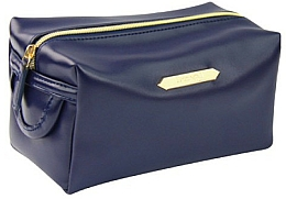Fragrances, Perfumes, Cosmetics Rectangular Makeup Bag 4988, dark blue - Donegal