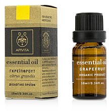 "Fragrances, Perfumes, Cosmetics Essential Oil ""Grapefruit"" - Apivita"