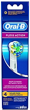 Fragrances, Perfumes, Cosmetics Replaceable Electric Toothbrush Head Floss Action EB 25, 4 pcs - Oral-B