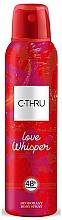 Fragrances, Perfumes, Cosmetics C-Thru Love Whisper - Body Deodorant