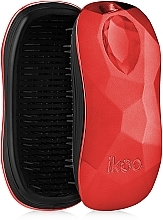 Fragrances, Perfumes, Cosmetics Hair Brush - Ikoo Home Black Dragon Lady Red