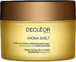 Fragrances, Perfumes, Cosmetics Firming Body Oil-in-Cream - Decleor Aroma Svelt Firming Body Cream