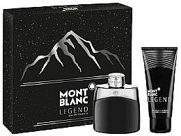 Fragrances, Perfumes, Cosmetics Montblanc Legend - Set (edt/50ml + sh/gel/100ml)