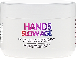 Fragrances, Perfumes, Cosmetics Hand Mask, Paraffin - Farmona Hands Slow Age Brightening And Anti-ageing Paraffin Hand Mask