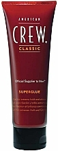 Fragrances, Perfumes, Cosmetics Strong Hold Hair Styling Gel - American Crew Classic Superglue Gel