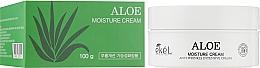 Fragrances, Perfumes, Cosmetics Moisturizing Face Cream with Aloe - Ekel Aloe Moisture Cream