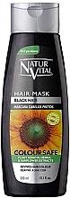 Fragrances, Perfumes, Cosmetics Hair Color Preserving Mask for Color-Treated Hair - Natur Vital Coloursafe Henna Hair Mask Black Hair