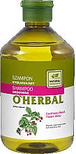 Fragrances, Perfumes, Cosmetics Smoothing & Shine Hair Shampoo with Raspberry Extract - O'Herbal Smoothing Shampoo