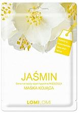 Fragrances, Perfumes, Cosmetics Soothing Jasmine Facial Sheet Mask - Lomi Lomi Jasmine Mask