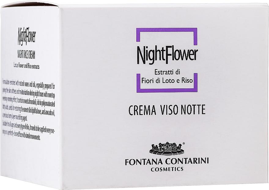 Night Face Cream - Fontana Contarini Night Face Cream — photo N1