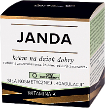 Fragrances, Perfumes, Cosmetics Day Cream for Vascular Skin - Janda