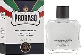 Fragrances, Perfumes, Cosmetics Aloe and Vitamin E After Shave Balm - Proraso Blue Line After Shave Balm Super Formula