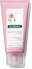 Fragrances, Perfumes, Cosmetics Peony Extract Hair Gel Conditioner - Klorane Soothing and Anti-Irritating Gel Conditioner