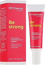 Fragrances, Perfumes, Cosmetics Warming Muscle Cream - AA Fit.Friends Be Strong Extra Balm