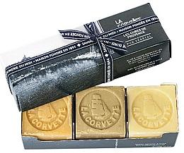 Fragrances, Perfumes, Cosmetics Set - La Corvette Provence Soap Gift Box (soap/3x100g)