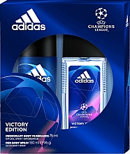 Fragrances, Perfumes, Cosmetics Adidas UEFA Champions League Victory Edition - Set (deo/spray/75ml+deo/150ml)