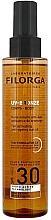 Fragrances, Perfumes, Cosmetics Protecting & Tan Activating Sun Oil - Filorga UV-Bronze Body Tan Activating Anti-Ageing Sun Oil SPF 30