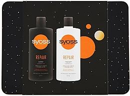 Fragrances, Perfumes, Cosmetics Set - Syoss Repair Metal Box (shmp/440ml + cond/440ml)