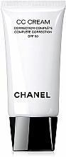 Fragrances, Perfumes, Cosmetics Even Skin Tone CC Cream - Chanel CC Cream Complete Correction SPF50