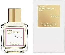 Fragrances, Perfumes, Cosmetics Maison Francis Kurkdjian À La Rose - Scented Body Oil