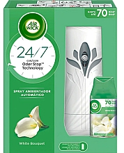 Fragrances, Perfumes, Cosmetics Air Freshener - Air Wick Freshmatic Life Scents White Bouquet