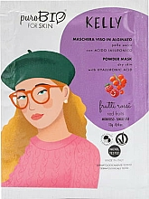 "Fragrances, Perfumes, Cosmetics Alginate Mask ""Red Fruits"" - PuroBio Cosmetics Kelly Powder Mask Dry Skin"