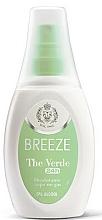 Fragrances, Perfumes, Cosmetics Breeze Deo The Verde - Spray Deodorant