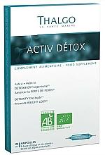 Fragrances, Perfumes, Cosmetics Cleansing Detox Ampoules - Thalgo Active Detox