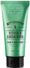 Fragrances, Perfumes, Cosmetics Vetiver & Sandalwood Shower Gel-Shampoo - Scottish Fine Soaps Vetiver & Sandalwood Hair Body Wash
