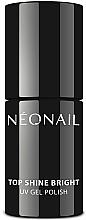 Fragrances, Perfumes, Cosmetics Glow Gel Polish Top Coat - NeoNail Professional Top Shine Bright UV Gel Polish