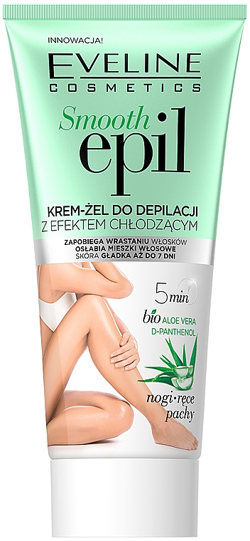 Cooling Hair Removal Gel - Eveline Cosmetics Smooth Epil