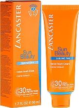 Fragrances, Perfumes, Cosmetics Tan Cream - Lancaster Sun Beauty Velvet Touch Cream Radiant Tan SPF 30