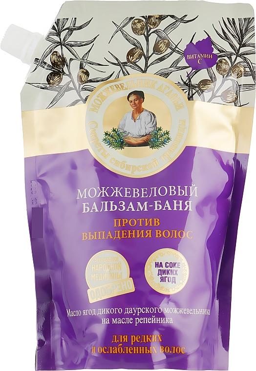 Anti Hair Loss Juniper Balsam-Bath - Retsepty Babushki Agafyi (doypack) — photo N1