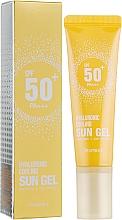 Fragrances, Perfumes, Cosmetics Sun Body Gel - Deoproce Hyaluronic Cooling Sun Gel