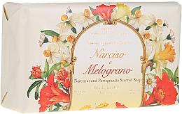 """Fragrances, Perfumes, Cosmetics Natural Soap """"Narcissus & Pomegranate"""" - Saponificio Artigianale Fiorentino Narcissus & Pomegranate Soap"""