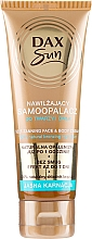 Fragrances, Perfumes, Cosmetics Self-Tanning Cream for Fair Skin - DAX Sun Extra Bronze Self-Tanning Cream