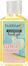 """Fragrances, Perfumes, Cosmetics Antibacterial Hand Gel """"Gin and Tonic"""" - Bubble T Cleansing Hand Gel Gin & Tonic"""