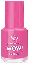 Fragrances, Perfumes, Cosmetics Nail Polish - Golden Rose Wow Nail Color
