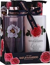 Fragrances, Perfumes, Cosmetics Set - Baylis & Harding Boudoire Rose (sh/gel/300ml + b/lot/300ml)