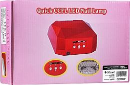 Fragrances, Perfumes, Cosmetics Nail Lamp - Silcare Diamond LED CCFL UV 36W Lamp White