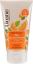 "Fragrances, Perfumes, Cosmetics Hand, face and Body Antibacterial Gel ""Bitter Orange"" - Lirene"
