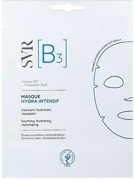 Moisturizing Face Mask - SVR [B3] Intensive Hydra Mask