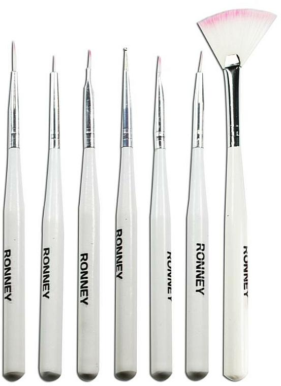 Nail Art Brush Set, RN 00470 - Ronney Professional