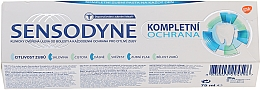 """Fragrances, Perfumes, Cosmetics Toothpaste """"Complex Protection"""" with Fluoride - Sensopdyne Toothpaste"""