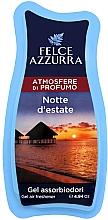 Fragrances, Perfumes, Cosmetics Freshener - Felce Azzurra Gel Air Freshener Notte d'estate