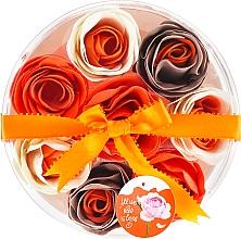 "Fragrances, Perfumes, Cosmetics Bath Confetti ""Orange"", 8 pcs - Spa Moments Bath Confetti Orange"