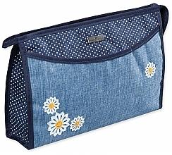 "Fragrances, Perfumes, Cosmetics Makeup Bag ""Camomiles"", 98215, floral print - Top Choice"
