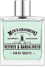 Fragrances, Perfumes, Cosmetics Scottish Fine Soaps Men's Grooming Vetiver & Sandalwood - Eau de Toilette